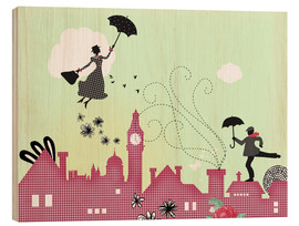 Bois  Mary Poppins London - Elisandra Sevenstar