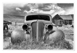 Poster Voiture ancienne