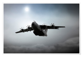 Poster  A400M - airpowerart