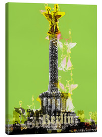 Tableau sur toile  Berlin Victory Column (on Green) - JASMIN!