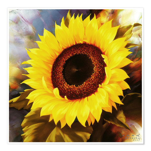 Poster sunflower