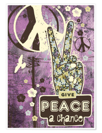 Poster Give Peace A Chance