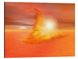Alu-Dibond  The Fire Angel - Dolphins DreamDesign