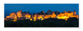 Poster France - Castle Carcassone