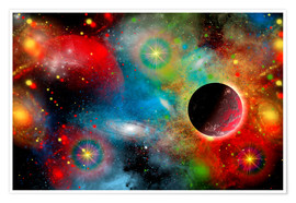 Poster  colorful universe - Mark Stevenson