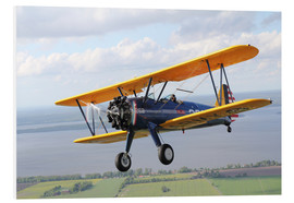 Tableau en PVC  Boeing-Stearman Model 75 (Kaydet) - Daniel Karlsson