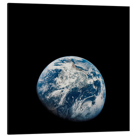 Alu-Dibond  Earth from the viewpoint of Apollo 8 - Stocktrek Images