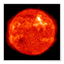 Poster  Solar flare on the Sun's surface - Stocktrek Images