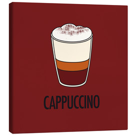 Tableau sur toile  Cappuccino, for the italian lover in you! - JASMIN!