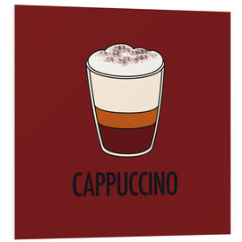 Tableau en PVC  Cappuccino, for the italian lover in you! - JASMIN!