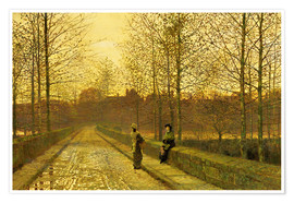 Poster In the Golden Gloaming, 1883