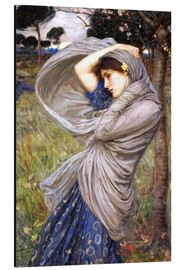 Tableau en aluminium  Borée - John William Waterhouse