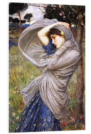 Tableau en PVC  Borée - John William Waterhouse