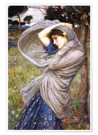 Poster  Boréas - John William Waterhouse