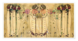 Poster  Le Wassail - Charles Rennie Mackintosh