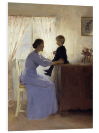 Tableau en PVC  Mother and Child - Peter Vilhelm Ilsted