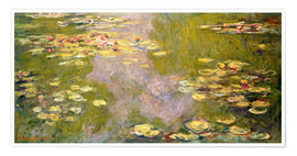 Claude Monet - The Lily Pond