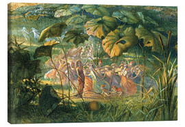 Tableau sur toile  Fairy Dance in a Clearing - Richard Doyle