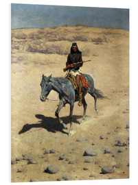Tableau en PVC  Apache Indien - Frederic Remington