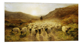 Tableau en PVC  Leaving the Hills - Joseph Farquharson