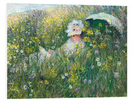 Forex  In the Meadow - Claude Monet