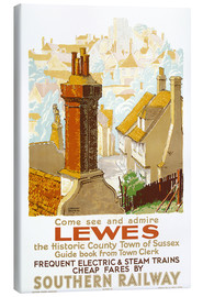 Tableau sur toile  Come see and admire Lewes - Gregory Brown