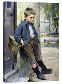 Tableau sur toile  Out of the Game - Henri Jules Jean Geoffroy