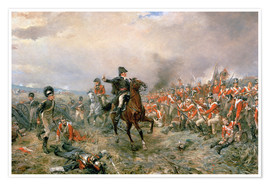 Poster The Duke of Wellington at Waterloo