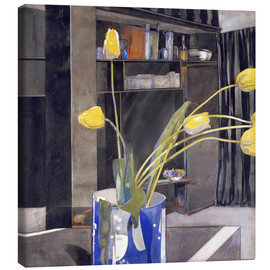 Tableau sur toile  Yellow Tulips - Charles Rennie Mackintosh
