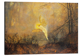 Tableau en aluminium  Midsummer Night, or 'Iris', 1876 - John Atkinson Grimshaw