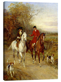 Tableau sur toile  Drawing Cover - Hardy Heywood