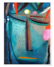 Poster  Face of Christ, Crown of Thorns - Alexej von Jawlensky