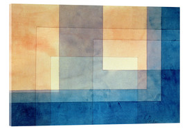 Verre acrylique  House on the Water - Paul Klee