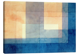 Toile  House on the Water - Paul Klee