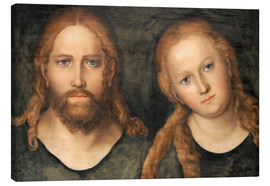 Toile  Christ and Mary Magdalene - Lucas Cranach d.Ä.