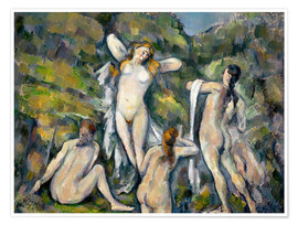 Poster Les Baigneuses