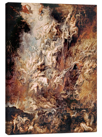 Toile  The Descent into Hell of the Damned - Peter Paul Rubens
