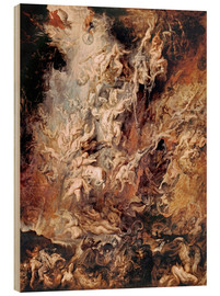 Bois  The Descent into Hell of the Damned - Peter Paul Rubens