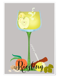 Poster Riesling