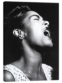 Toile  Billie Holiday