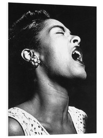 Tableau en PVC  Billie Holiday
