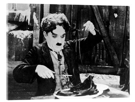 Verre acrylique  Chaplin: The Gold Rush