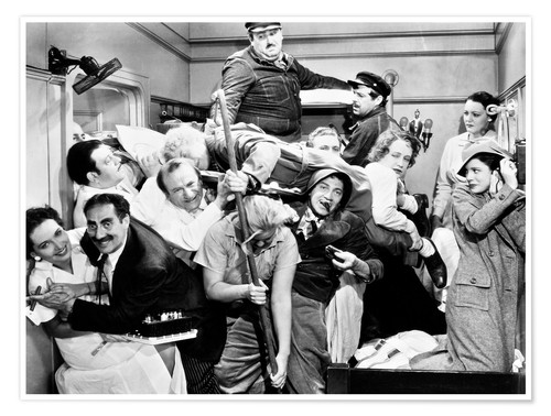 Poster Les Marx Brothers, 1935