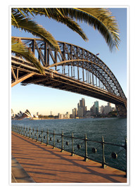 Poster  Sydney Harbour Bridge - David Wall
