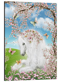 Alu-Dibond  Dreamy Unicorn - Dolphins DreamDesign