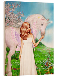 Bois  Angel and Unicorn - Dolphins DreamDesign