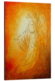 Alu-Dibond  Angel of Healing - Marita Zacharias