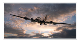 Poster  The Flying Fortress - airpowerart