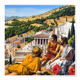 Poster  Ancient Greece - Roger Payne