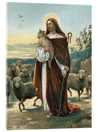 Verre acrylique  The good shepherd - John Lawson